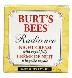 BURT'S BEES RADIANCE NIGHT CREME 55G - Queensborough Community Pharmacy