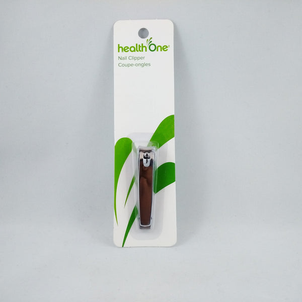 HEALTH ONE NAIL CLIPPER MEDIUM - Queensborough Community Pharmacy