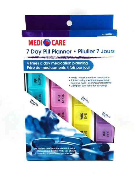 7 DAY PILL PLANNER 4/XDAY - Queensborough Community Pharmacy