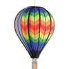 26 in. Hot Air Balloon - Double Rainbow Chevron