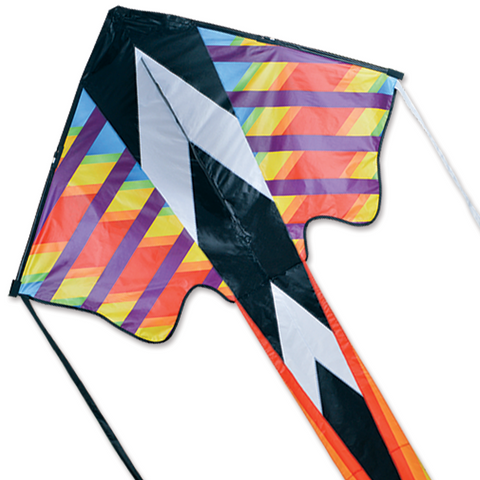 Zephyr Kite - Rainbow Geometric