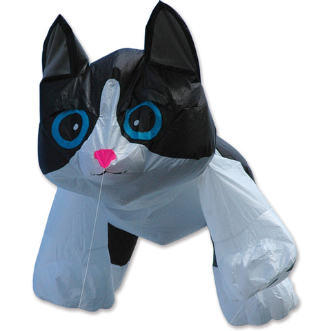 8 ft. Black & White Kitten Line Device for Kites