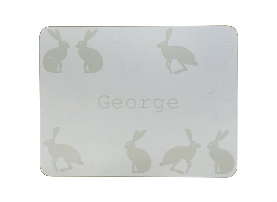 Hetty Hare Personalised Placemat
