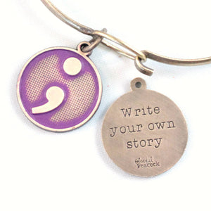 Your Own Story Token Charm Bracelet or Necklace