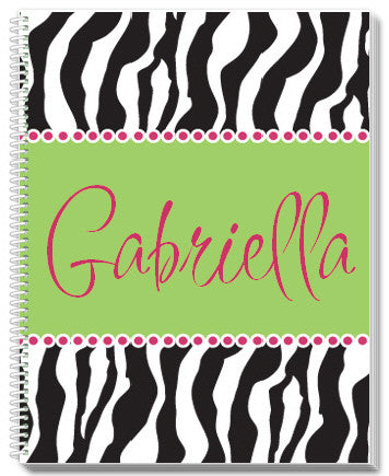 Zebra Notebook - frecklebox