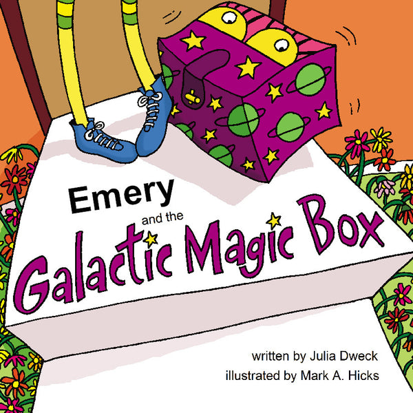 Galactic Box Personalized Storybook - Hard Cover - frecklebox