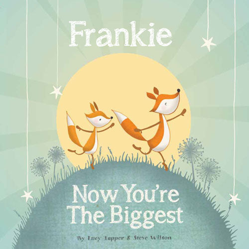 Now You're the Biggest Personalized Storybook - Soft Cover