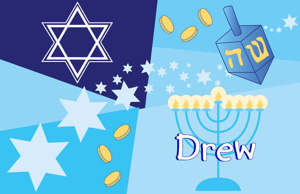 Hanukkah Placemat - frecklebox