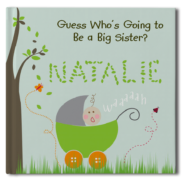 Big Sister Personalized Storybook - Soft Cover - frecklebox