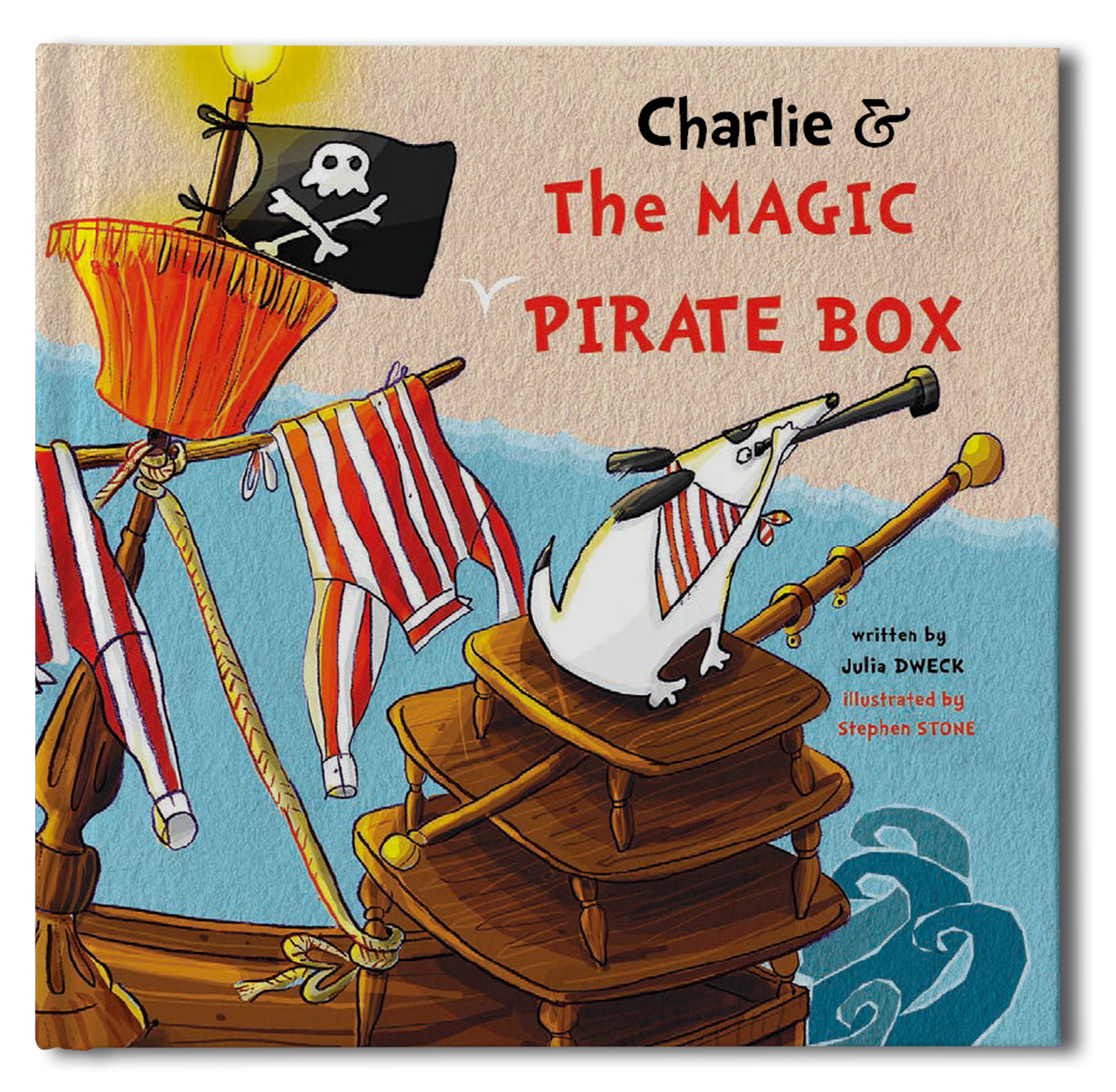 Pirate Box Book - frecklebox