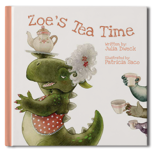 Tea Time Book - frecklebox