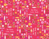 Valentine Candy Cream Wrapping Paper 6ft - frecklebox