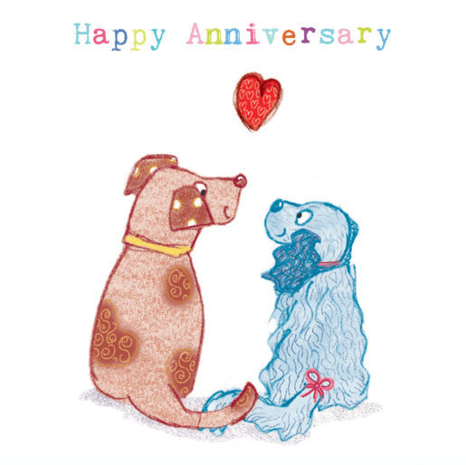 Dogs - Happy Anniversary
