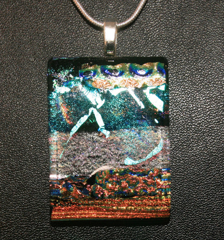 Imaginative Creations Bailed Pendant #01 Fused Memorable Glass Jewelry