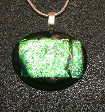 Imaginative Creations Bailed Pendant #15 Memorable Glass Jewelry
