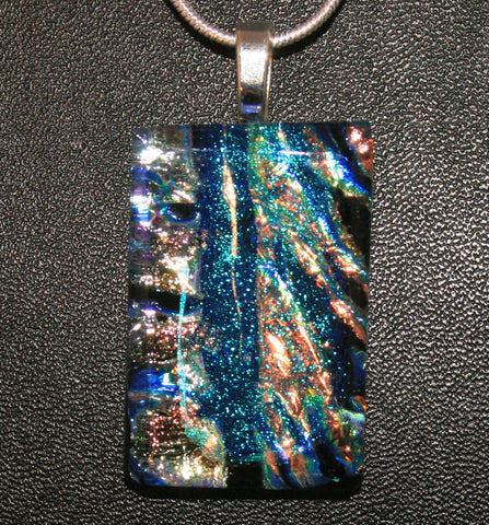 Imaginative Creations Bailed Pendant #02 Fused Memorable Glass Jewelry