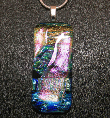 Imaginative Creations Bailed Pendant #09 Memorable Glass Jewelry