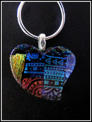 Imaginative Creations Bailed Pendant #09a Memorable Glass Jewelry
