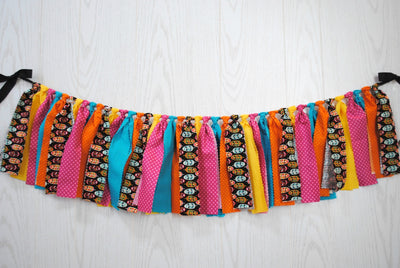 Boho Feather Fabric Bunting - FREE Shipping