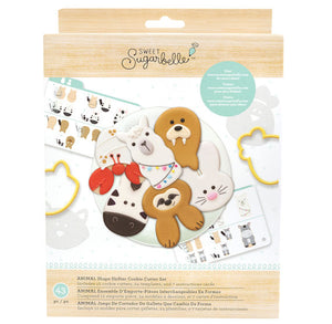 Sweet Sugarbelle Animal Cookie Cutter Set | www.bakerspartyshop.com
