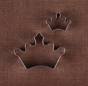 Crown Cookie Cutter Set | www.bakerspartyshop.com