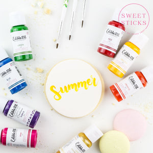 Primary Edible Art Paint Set | www.bakerspartyshop.com