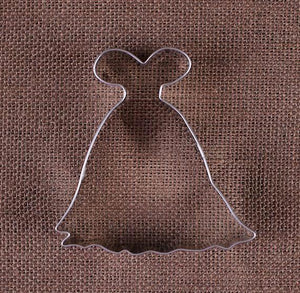 Princess Dress Cookie Cutter | www.bakerspartyshop.com