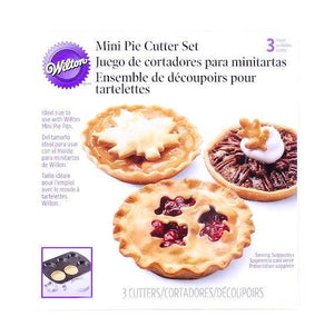 Mini Fall Pie Crust Cutters | www.bakerspartyshop.com
