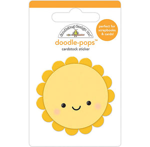 Large Happy Sun Sticker | www.bakerspartyshop.com