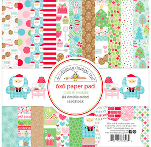 Christmas Paper Pad: Milk and Cookies | www.bakerspartyshop.com