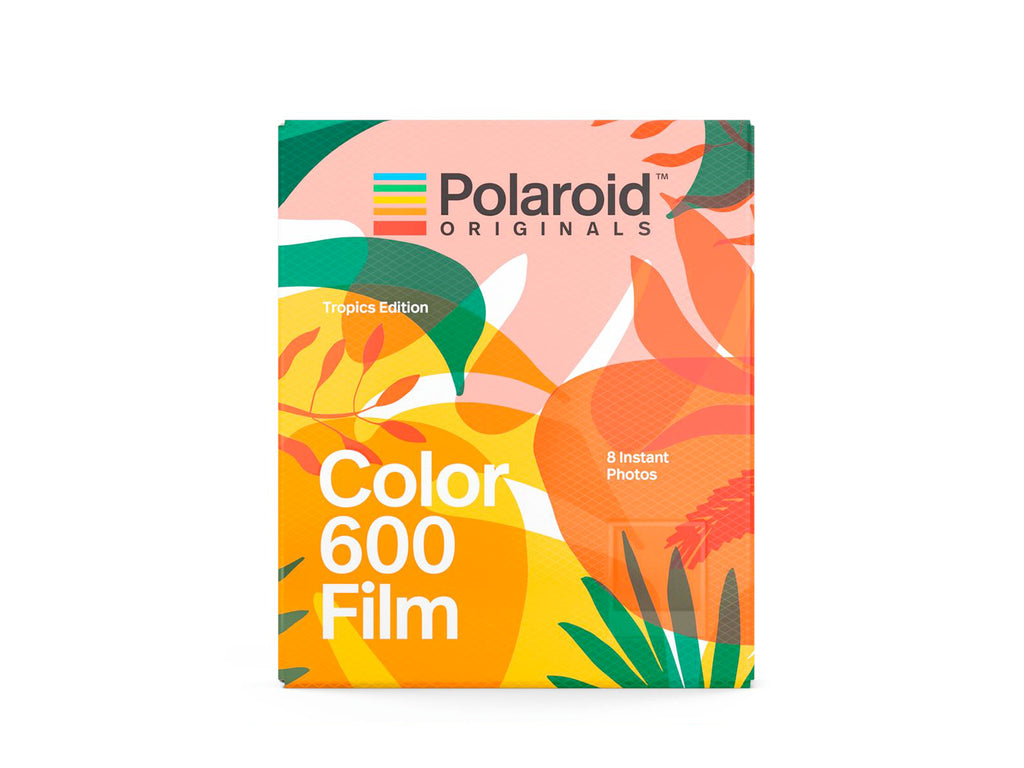 ฟิล์มสี Polaroid Color Film 600 Tropics Edition