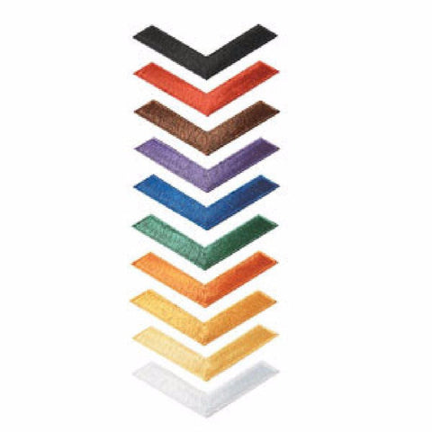Chevron Patches c084 - BlackBeltShop