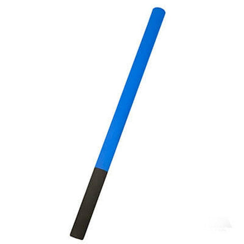 2 toned Foam Practice Escrima Stick blue-black aw13243 - BlackBeltShop