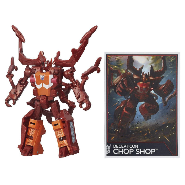 Decepticon Chop Shop Transformers Generations Combiner Wars Legends Wave 5