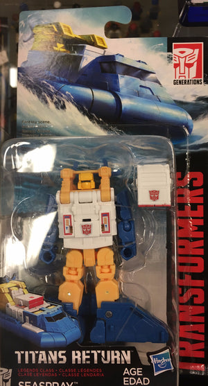 Seaspray - Transformers Generations Titans Return Legends Wave 5