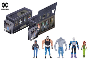 Batman Animated GCPD Rogues Gallery 5 Pack