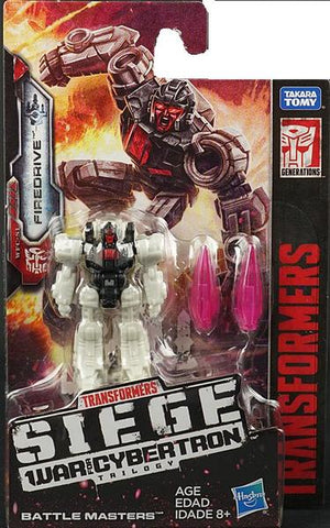 Firedrive - Transformers Generations Siege Battlemasters Wave 3