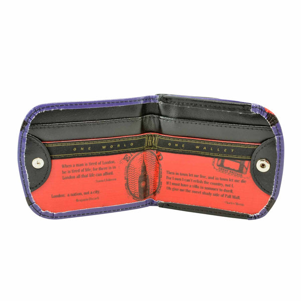 LONDON - Vegan, Non-Leather Taxi Wallet