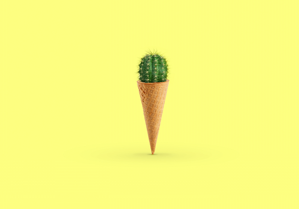 Surreal, Minimalist Images Of Everyday Objects That Depict Conflicting Emotions