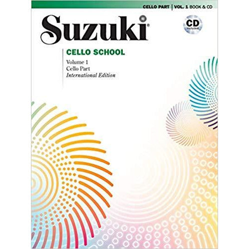 Suzuki Cello School Books