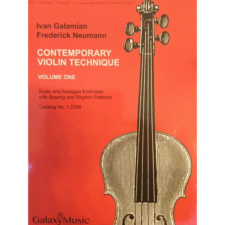 Ivan Galamian Contemporary Violin Technique vol. 1
