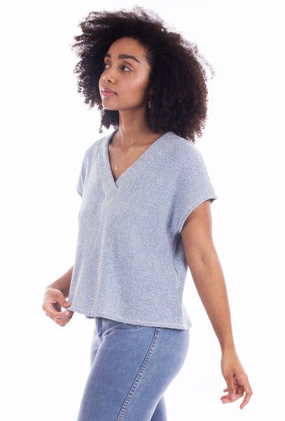 The Tabor V-Neck sewing pattern (PDF Pattern)