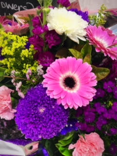 $45.00 Florist Choice Bouquet in brights