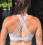 7Five Power Back bra - White - 7Five Clothing Co.