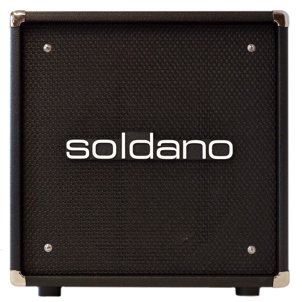 Soldano 112 Cab Black - Cabinet - Soldano - Sounds Great Music