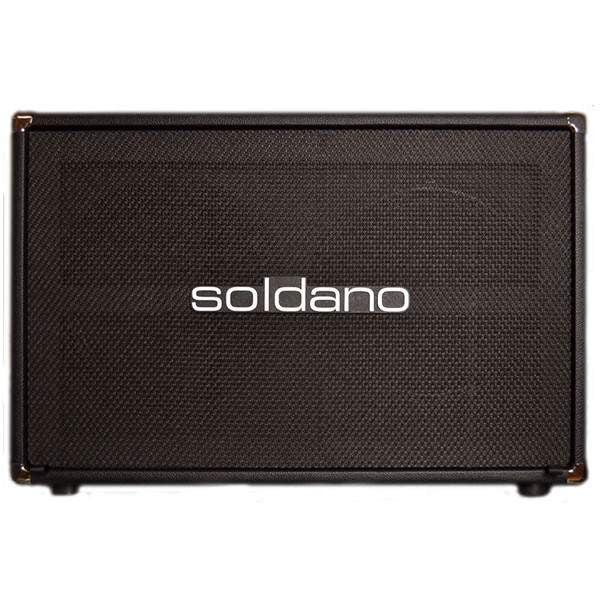 Soldano 212 Closed back cab Black - Cabinet - Soldano - Sounds Great Music