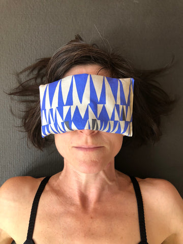 Trikonasana Eye Pillow