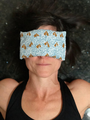Gleaned: Seeds Eye Pillow