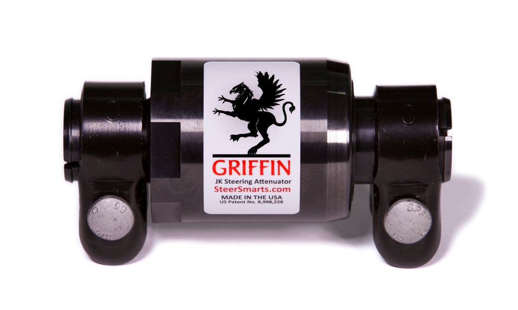 "YETI HD™ 26 JK ""No Drill"" Top Mount Outer Draglink End w/ Griffin Attenuator"