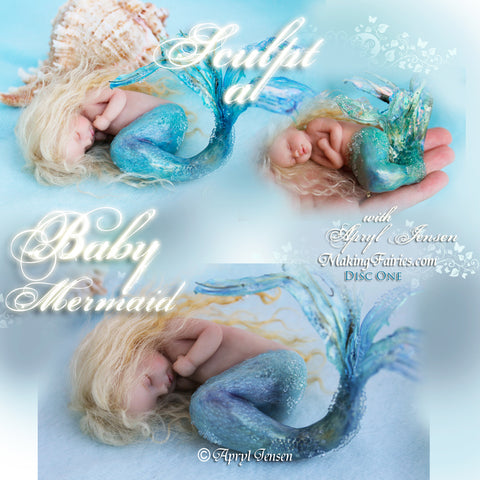Commission a Baby or Baby Mermaid - Down Payment Only